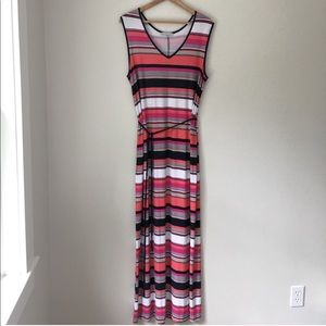 Annalee + Hope Striped Maxi Dress